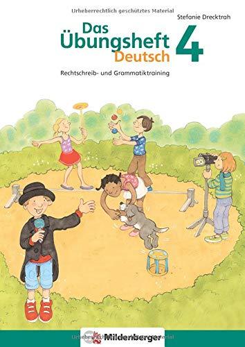 Das Übungsheft Deutsch   Das Übungsheft Deutsch 4  Rechtschreib  Und Grammatiktraining