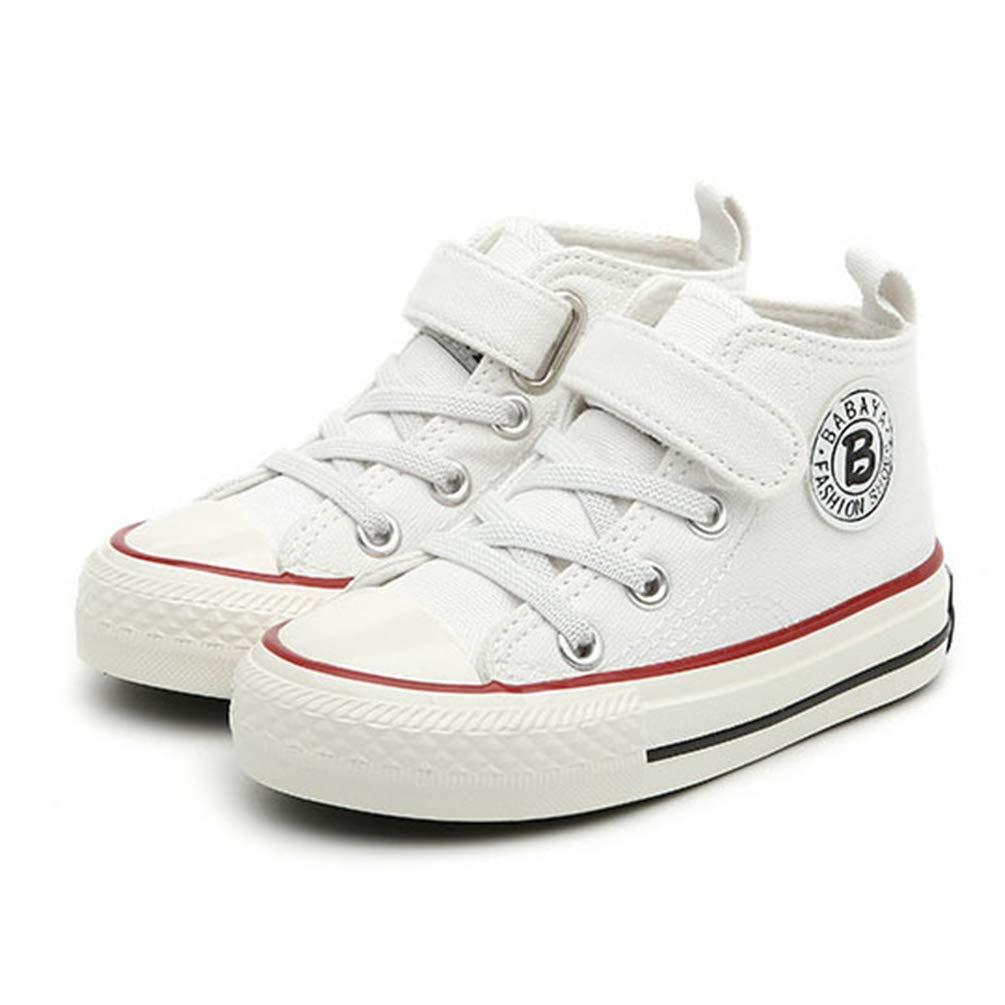 Enfants Chaussures de Toile Filles Sneakers High-Top Gar/çons Chaussures Respirant Petits Enfants Casual Chaussures Baskets Enfant