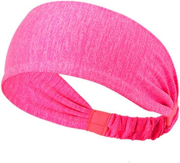 Sharemily home Womens Yoga Sport Athletic Headband for Running Fitness Working Moisture Wicking Workout Sweatband Unisex Hairband Men /& Women