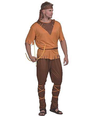 c8378ef34e Amazon.com: Halloween Costumes for Men - Native American Costume Adult  Robin Hood Outlaw Archer Swordsman Costume: Clothing