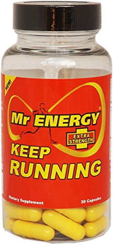 Mr ENERGY Keep Running Extra Strength ENERGY Pills - 30 Caps