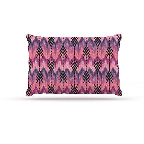 Kess InHouse Amanda Lane Bohemia  Fleece Dog Bed, 30 by 40-Inch, Yellow Pink