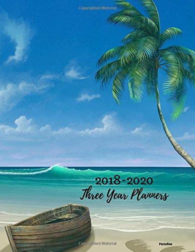 2018 - 2020 Three Year Planner: 2018-2020 Monthly Schedule Organizer – Agenda Planner for the Next Three Years/36 months calendar – 8.5 x 11 inches ... (3 year Diary/3 year Calendar/Logbook)