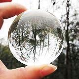 Mazur 60mm Clear Glass Ball Rare Natural Quartz Crystal Sphere Clear Magic Ball Chakra Healing Gemstone Wonderful Gift