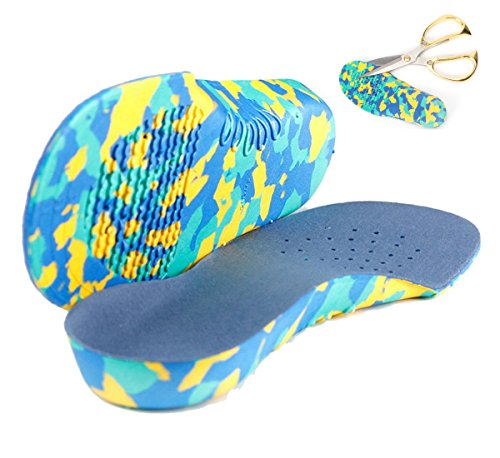 New Bouncy & Sturdy Technology Insole by Kidsole. For Active Kid's With Sensitive Feet Who Need Arch Support