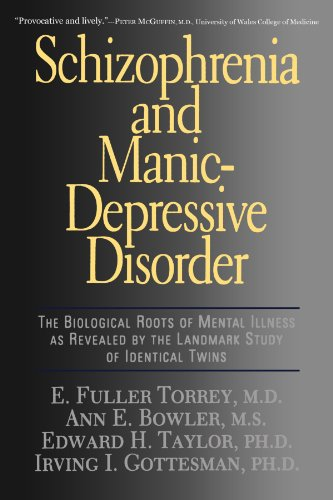 Schizophrenia And Manic-depressive Disorder: The Biological Roots Of Mental Illness As Revealed By The Landmark Study Of