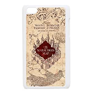 Custom High Quality WUCHAOGUI Phone case The Marauders Map - Harry Potter Protective Case FOR IPod Touch 4th - Case-20