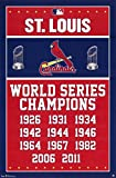 Laminated Cardinals - Champions 13 Poster 22 x 34in
