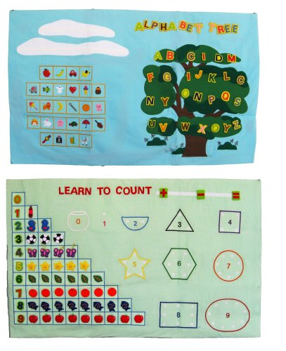 """""""Alphabet Tree"""" & """"Learn to Count"""" Handmade Letters & Num..."""