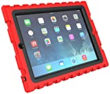 iPad 2 3 4 - Shockdrop Poptop with Stand - Rugged Case - Red-Black