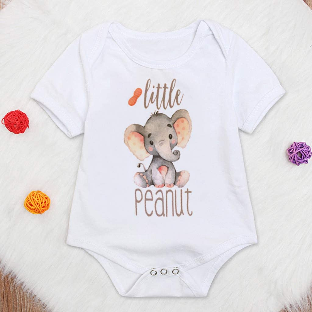 Newborn Baby Boy Girl Rompers Pajamas Cute O-Neck Jumpsuit Warmer Playsuit Bodysuit Zipper Soft Cartoon Printed Onesie Sleepwear Outfits Clothes Lovely Crawling Suit Sleep and Play