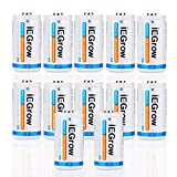 iEGrow C Batteries 6000mAh Ni-MH Rechargeable(12-Pack)