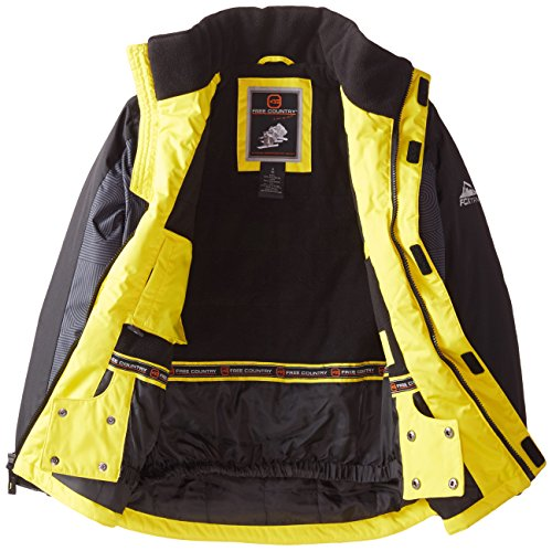Panel Free Printed Boys' Country Tron Heavyweight Pencil Coat Lead qI7w7trA
