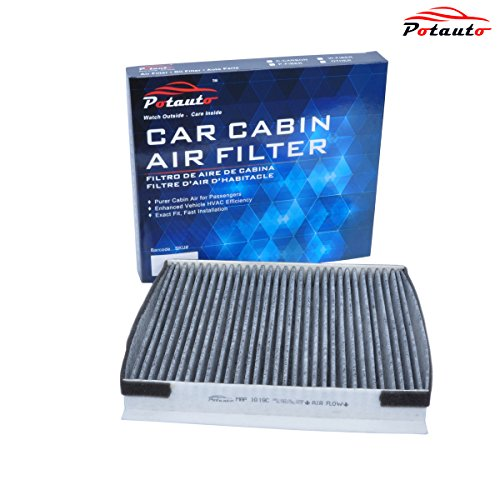 POTAUTO MAP 1019C Heavy Activated Carbon Car Cabin Air Filter Replacement compatible with HYUNDAI, G80, Equus, Genesis