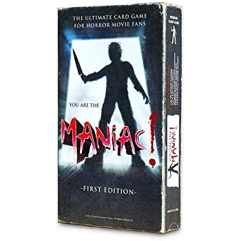 You Are The Maniac! The Horror Movie Card Game