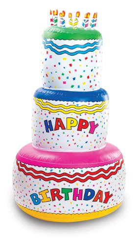 Fun Express Birthday Inflatable Decoration