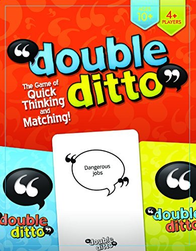 Inspiration Play Double Ditto Family Party Board Game]()