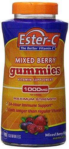 Ester-C Gummies, 1000 mg, 90 comte