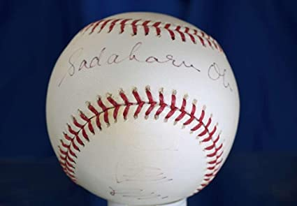 46b81a61 Sadaharu Oh Signed Ball - Major League Authentic - JSA Certified ...