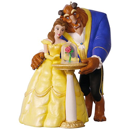 Collectible Christmas Ornament Collection (Hallmark Keepsake 2017 Disney Beauty and the Beast Tale as Old as Time Christmas Ornament With Light and Music)
