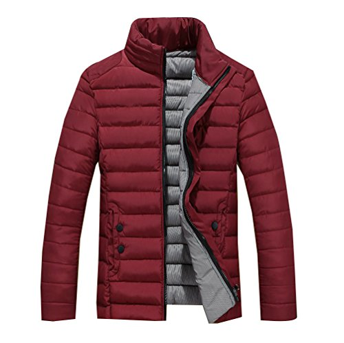 Bodeaux Slim Giacche Caldo Cappotto Fit Corto Uomini Invernale Giubbotto qx6aSOf