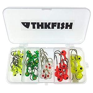 THKFISH Mixed Fishing Jig Heads...