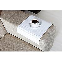 Full Slatted Super White 30cmx40cm Sofa tray, sofa table, arm table,couch tray, wooden tray,wood tray,napoli disbudak