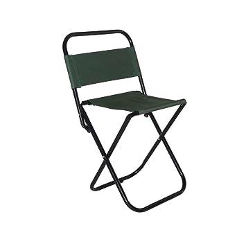 Portátil silla al aire libre silla de pesca Camping Caza ...