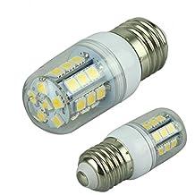 Hossen® Eco-friendly E27 27x5050 SMD 3.5w 300lm 2800-3200k Warm White Light LED Corn Bulb (110v)