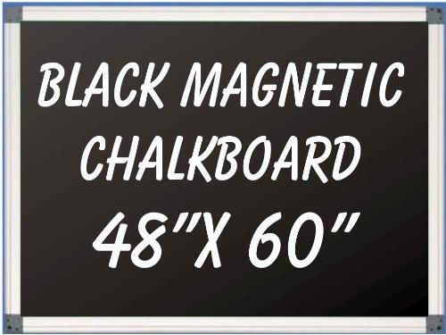 NEOPlex 48'' x 60'' Aluminum Framed Black MAGNETIC Chalkboard by NEOPlex