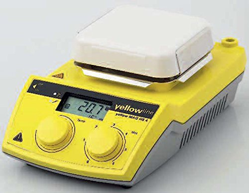 - IKA Works INC. 4240201 C-MAG HS 4 Digital IKAMAG Hot Plate Magnetic Stirrer, Glass Ceramics Heating Plate, 115V