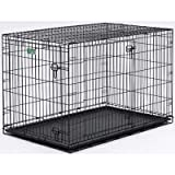 Mid-West Metal I Crate Double Door 30 Inch L x 19 Inch W x 21 Inch H Review