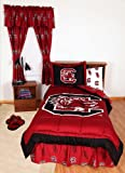 South Carolina Bed in a Bag Twin - With White Sheets by College Covers