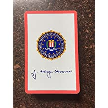 1960's J Edgar Hoover FBI Congress 606 Playing Cards Never Used