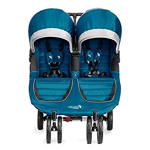 Baby Jogger 2017 City Mini Double (Teal/Gray)