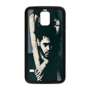 Bloomingbluerose the Weeknd Drawing Samsung Galaxy S5 Cases, {Black}