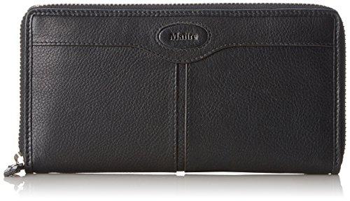 Maitre Faccio Dietrun LH12Z 4060001182 Damen Geldbörsen 20x10x1 cm (B x H x T) Schwarz (Black)