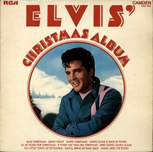 Elvis Presley Rare Records - Elvis Sings Christmas Songs Elvis' Christmas Album