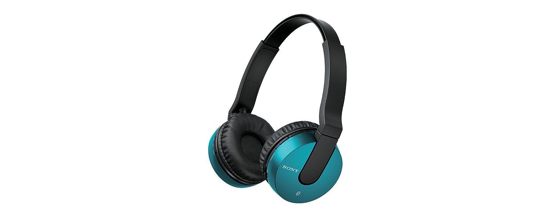 Sony MDR-ZX550BN - Auriculares de diadema cerrados Bluetooth (reducción de ruido, USB, NFC), azul: Amazon.es: Electrónica