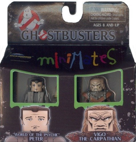 - Ghostbusters Minimates Mini Figure 2Pack Ghostbusters 2 World Of The Psychic Peter Vigo The Carpathian