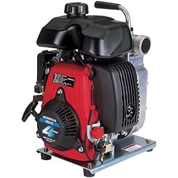 honda wxta gx series gas powered mini  stroke engine water pump amazoncom