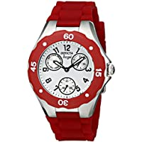 Invicta Women's 0701 Angel Collection Cranberry Multi-Function Watchh