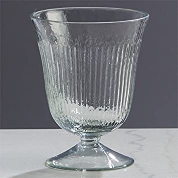 Amazon Napa Home Garden Fluted 5 Footed Glass Vase Home