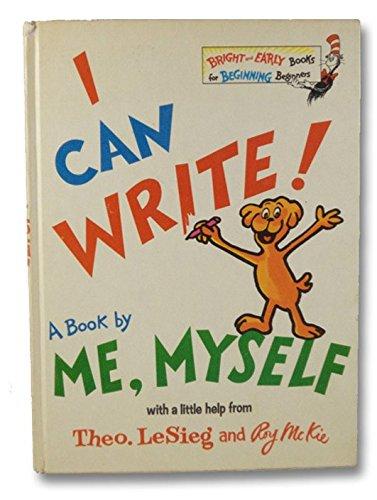 i can write - 2