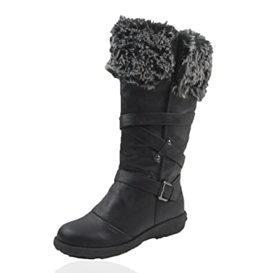 Women Winter Boots Comfy Moda Jessica Size 6-12: Amazon.ca: Shoes ...