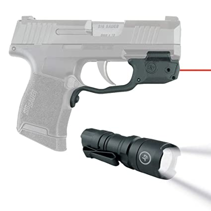 Crimson Trace LG-422 Red Laser Sight for Sig Sauer P365 Nitron Micro  Compact, Laserguard