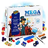 Mega Magic Tricks Set for Kids. Perform Hundreds Today's Most Exciting Tricks. Magic Kit with Instructional DVD
