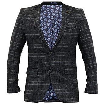 Patches Mantel mit Patches Tweed mit Mantel Tweed Patches Mantel Tweed mit rCEQoWdxBe