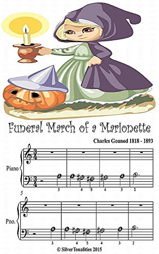 Funeral March of a Marionette Beginner Tots Piano Sheet Music -