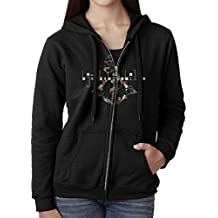 Women Bjork Biophilia Live Hoodie Sweatshirt Black
